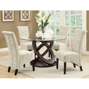 Glass Kitchen & Dining Room Sets You\'ll Love   Wayfair