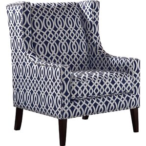 Pentland Wingback Chair by Beachcrest Home