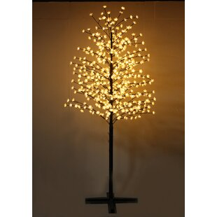 Outdoor Cherry Blossom Tree With Flowers And 488 LED Lights