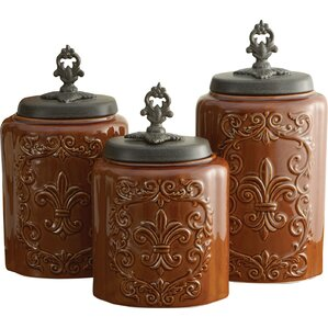 3piece erin canister set