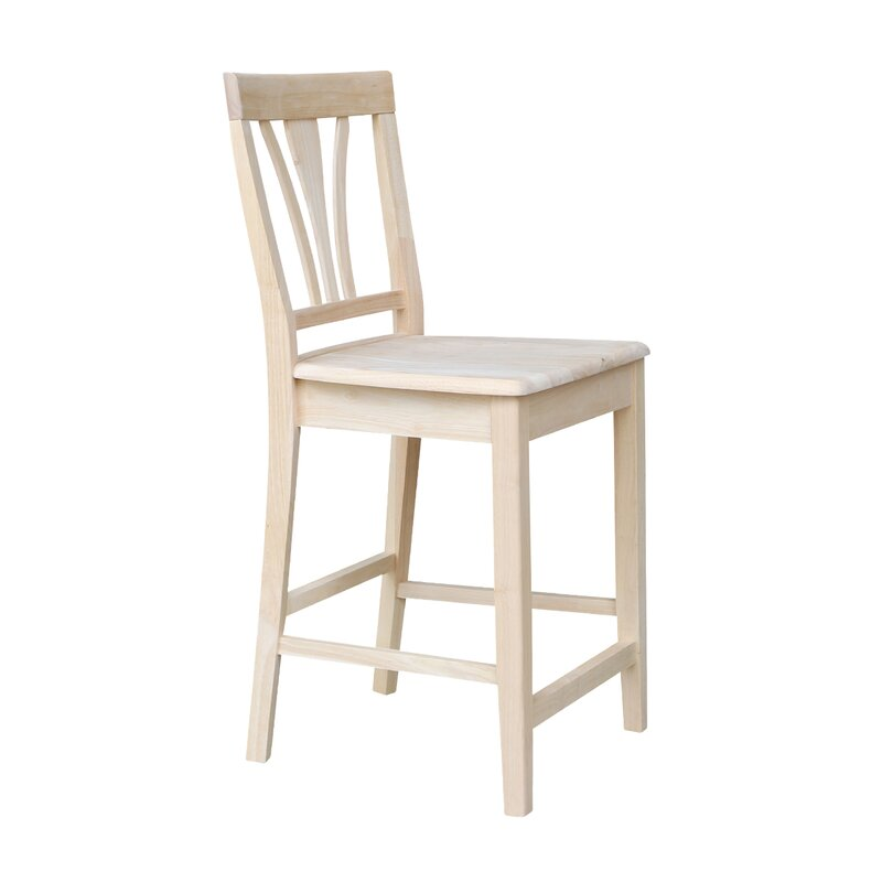 International Concepts Unfinished 24 Quot Bar Stool Amp Reviews