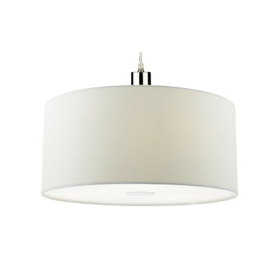 Ronda 40cm silk drum pendant shade