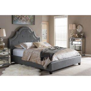 lavinia upholstered platform bed - Bed