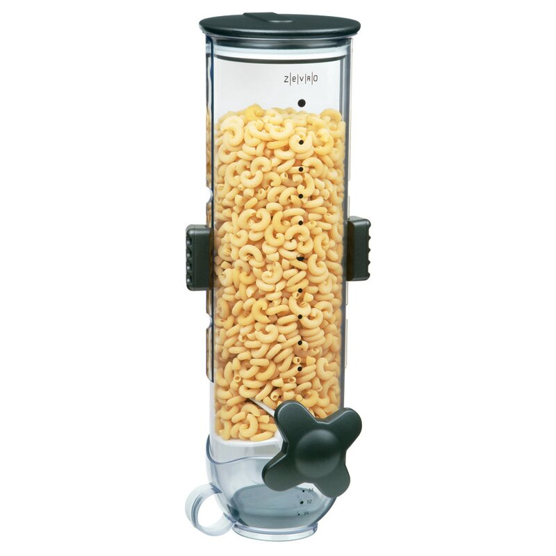 Zevro single wall mount dry food 13 oz cereal dispenser reviews single wall mount dry food 13 oz cereal dispenser ccuart Images
