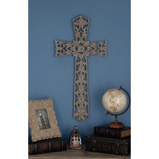 Wooden Cross Wall Decor