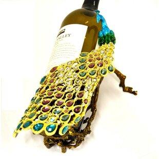 Eckhardt Peacock Tabletop Wine Bottle Rack