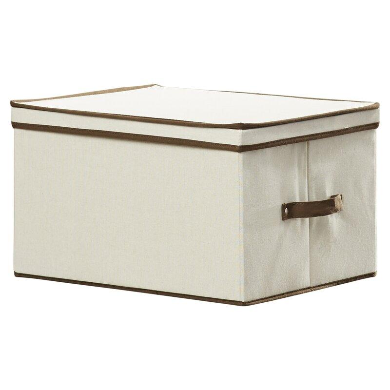 Canvas Tall Window Storage Box