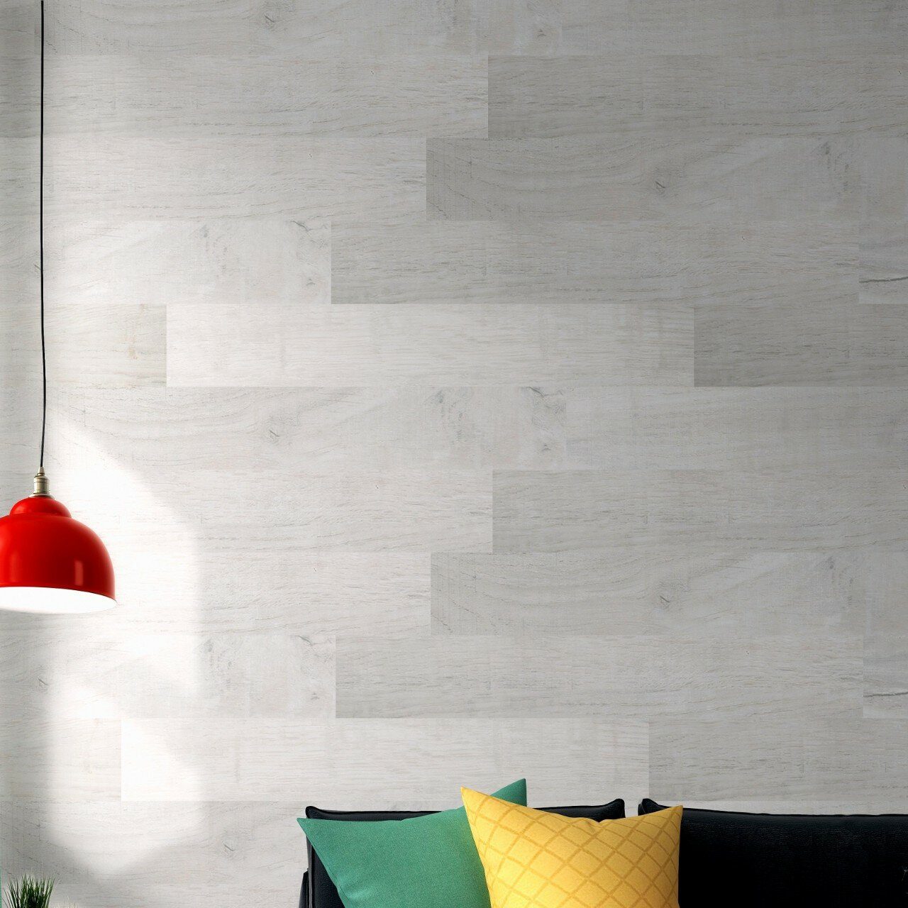 Mats Inc Easy Cover Pro 6 L And Stick Vinyl Wall Paneling In Scandinavia Wayfair