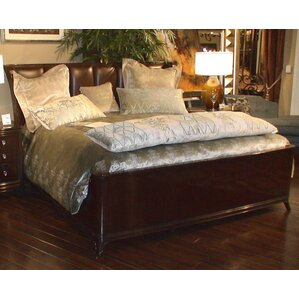 Mid Town King Upholstered Platform Bed by Eastern Legends