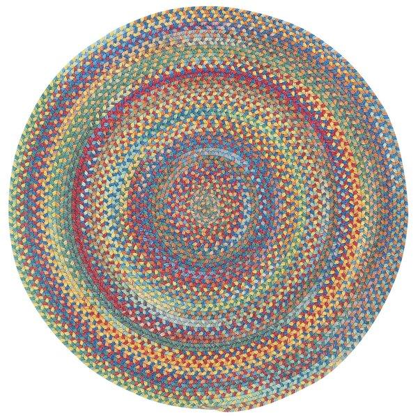 Capel Darwin Bright Multi Colored Straight Edge Mat