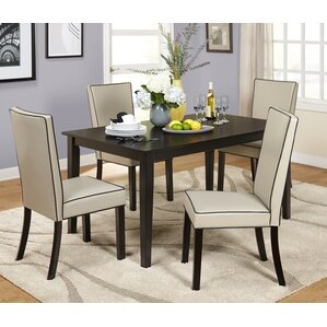 Coraima 5 Piece Dining Set by Latitude Run