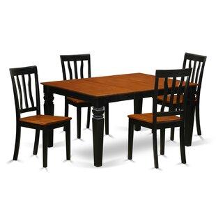 Arehart 5 Piece Dining Set