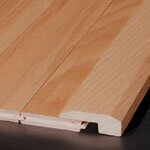 """0.63"""" x 2"""" x 78"""" Maple Threshold in Scandia Light - Sculpted"""