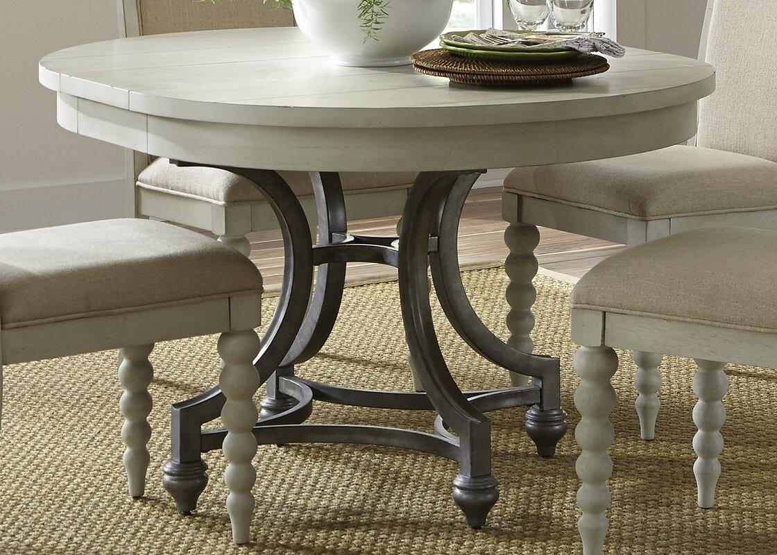 lark manor saguenay round dining table reviews. Black Bedroom Furniture Sets. Home Design Ideas