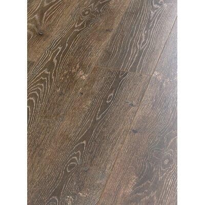 "Machu Picchu 8"" X 49"" X 12mm Laminate Flooring In Brown (set Of 4) Christina & Son"