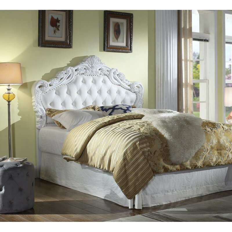 Astoria Grand Paladin Classic Style Queen Upholstered Panel Headboard Amp Reviews Wayfair Ca