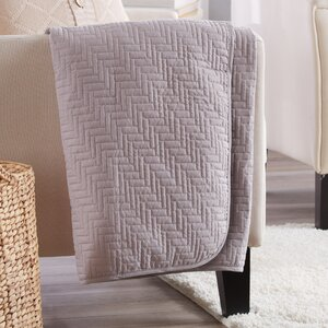 Aline Printed Quilted Throw