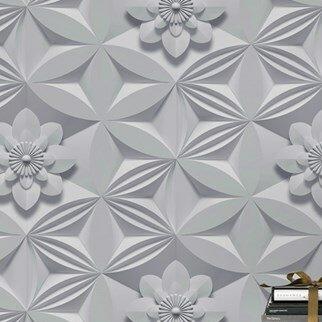 Graham & Brown Illusions 33' x 20'' Flower 3D Wallpaper Roll