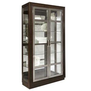 Byrnes Modern Double Door Standard Curio ..