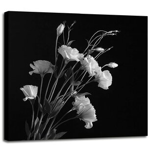 White flower wall art wayfair white flowers gray photographic print mightylinksfo