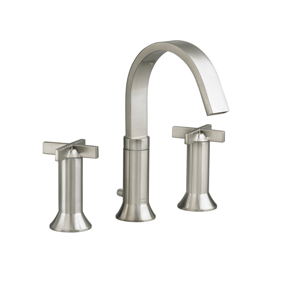 American Standard Berwick Widespread Bathroom Faucet with Double ...