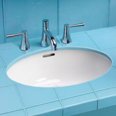 Toto Augusta Decorative Ceramic Oval Undermount Bathroom