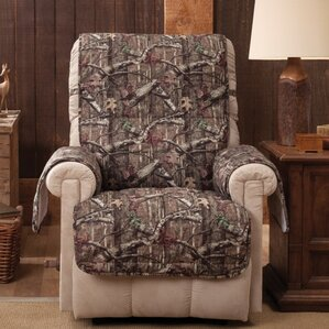 Breakup Infinity Box Cushion Recliner Slipcover by Mossy Oak