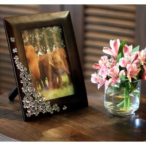 Summer Clover Mango Wood and Pewter Picture Frame