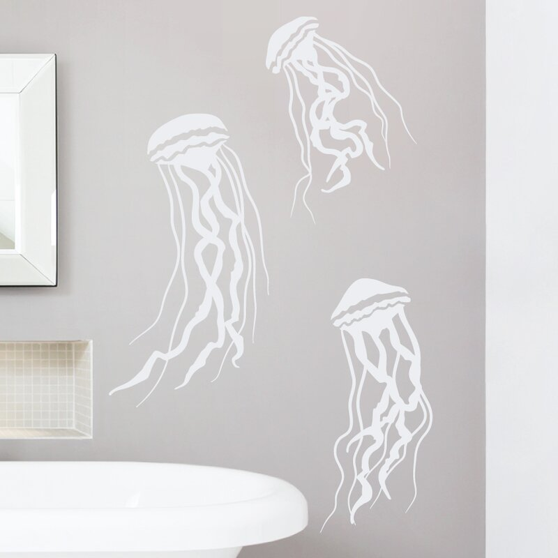 Jelly Fish Wall Decal
