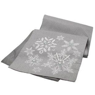 Glistening Snow Table Runner