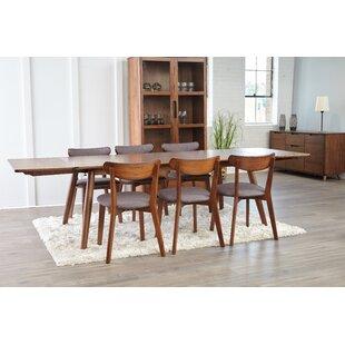 Clayborn 5 Piece Solid Wood Dining Set