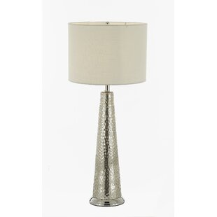 Preferred Hammered Silver Lamp | Wayfair TZ14