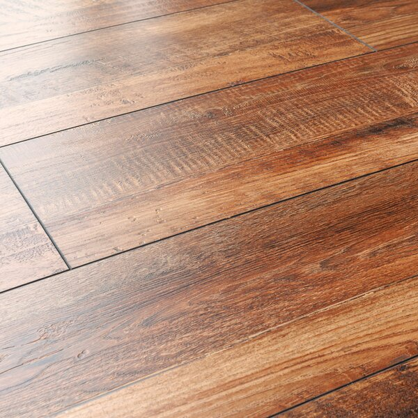 Kronoswiss 8 X 48 X 12mm Pine Laminate Flooring In Red Oak Wayfair