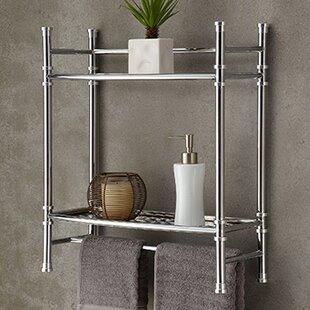 Chrome Mounted Towel Rack