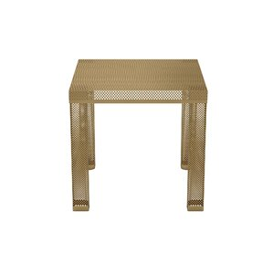 Iconic Metal End Table by Novo..