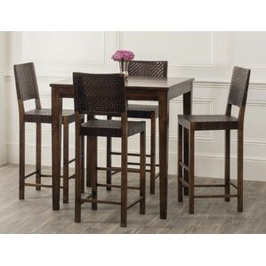 Panasonic 5 Piece Pub Table Set by Bloomsbury Market