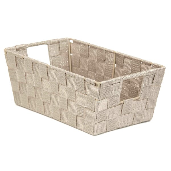 sc 1 st  Wayfair & Rebrilliant Strap Non-Woven Storage Basket | Wayfair