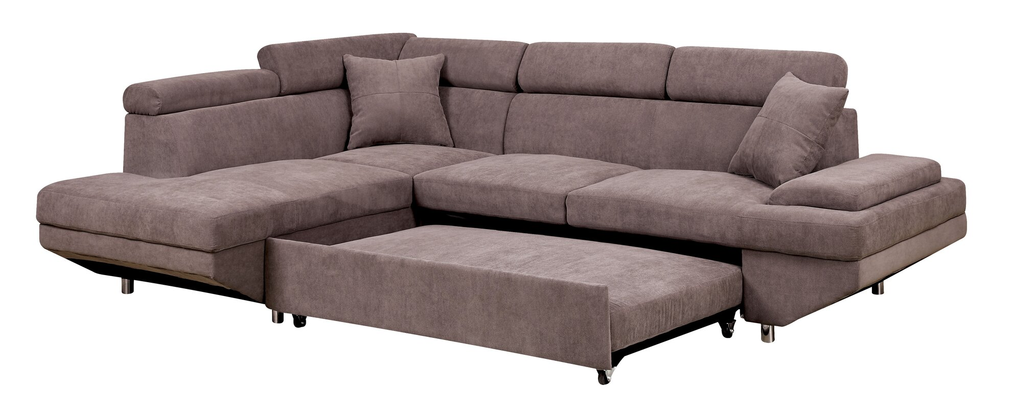 Orren Ellis Aprie Sleeper Sectional Collection Amp Reviews