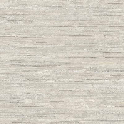 World Menagerie Usher 32.7' x 20.5 Flat Vinyl Wallpaper Roll Color: Grey / Taupe