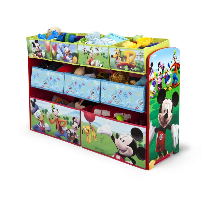 1d586b577 Delta Children Disney Mickey Mouse Toy Organizer & Reviews | Wayfair