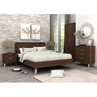 lininger queen panel configurable bedroom set - Modern Bedroom Furniture Sets