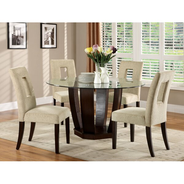 5 Piece Dining Sets hokku designs catina 5 piece dining set & reviews | wayfair