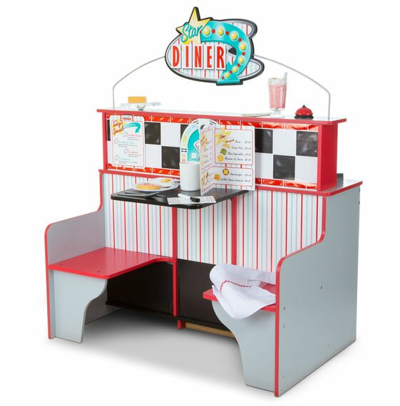 Melissa & Doug Star Diner Restaurant Kitchen Set & Reviews