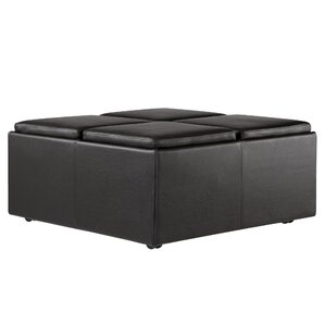 Three Posts Lytton Storage Ottoman Image