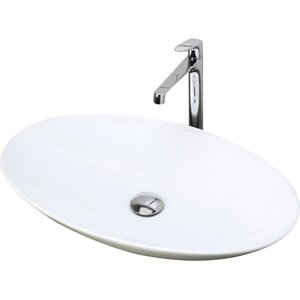 Lavender Classically Redefined Oval Vessel Bathroom Sink