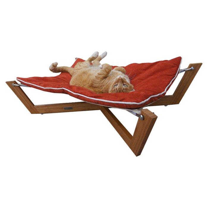 bambu cross pet hammock pet lounge studios bambu cross pet hammock  u0026 reviews   wayfair  rh   wayfair