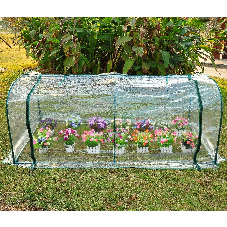 Newark 2m W x 1m D Mini Greenhouse