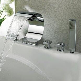 Waterfall Tub Faucet Wayfair