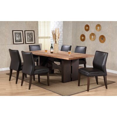 Orren Ellis Camron Modern Pedestal Base Dining Table & Reviews