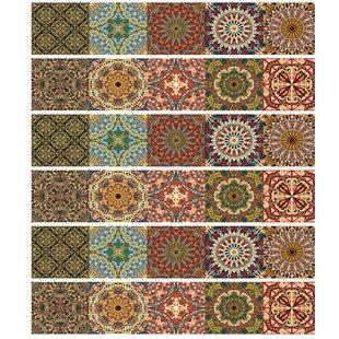 X Tile Decals Wayfair - 6x6 wall tile patterns